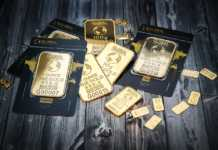 Gold Mini Bars